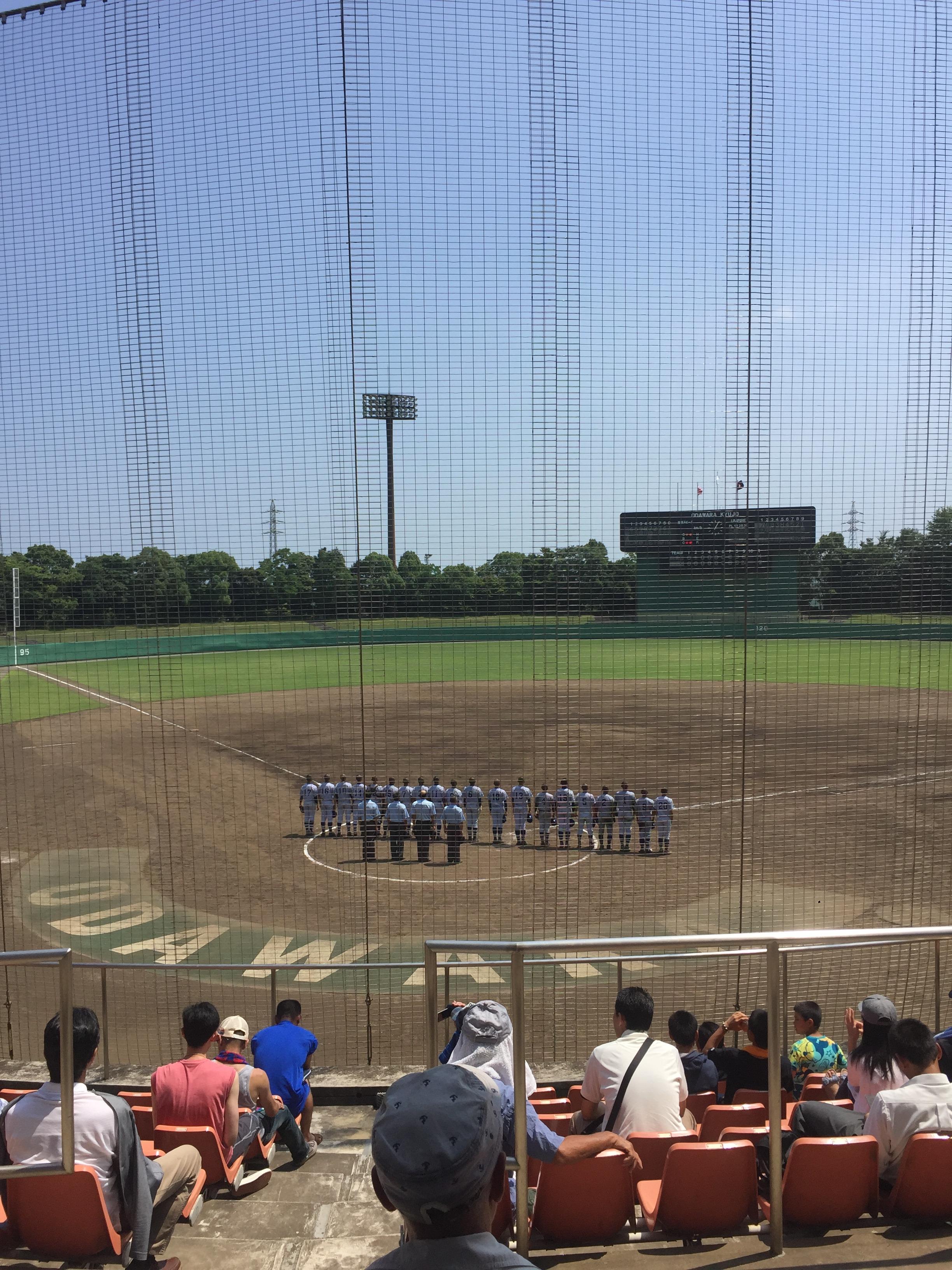 平塚学園野球部夏の大会3回戦