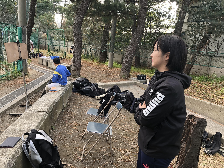 ☆市立中学校野球部投球動作分析