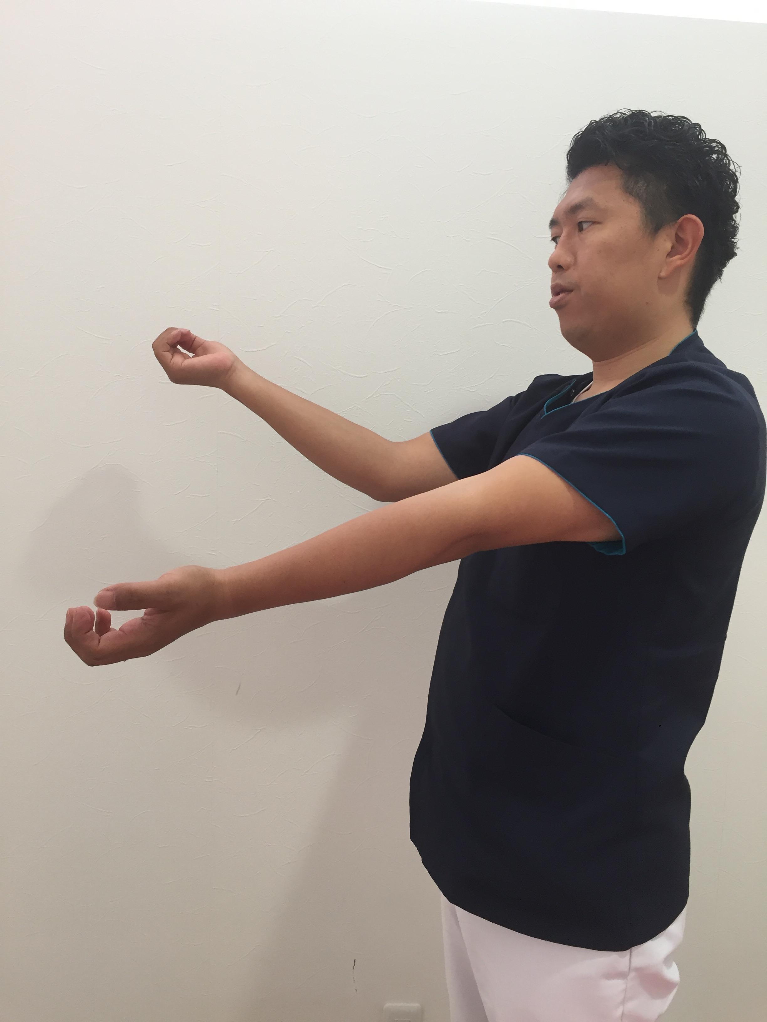 野球肘のチェック方法
