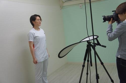 写真撮影☆鍼灸治療