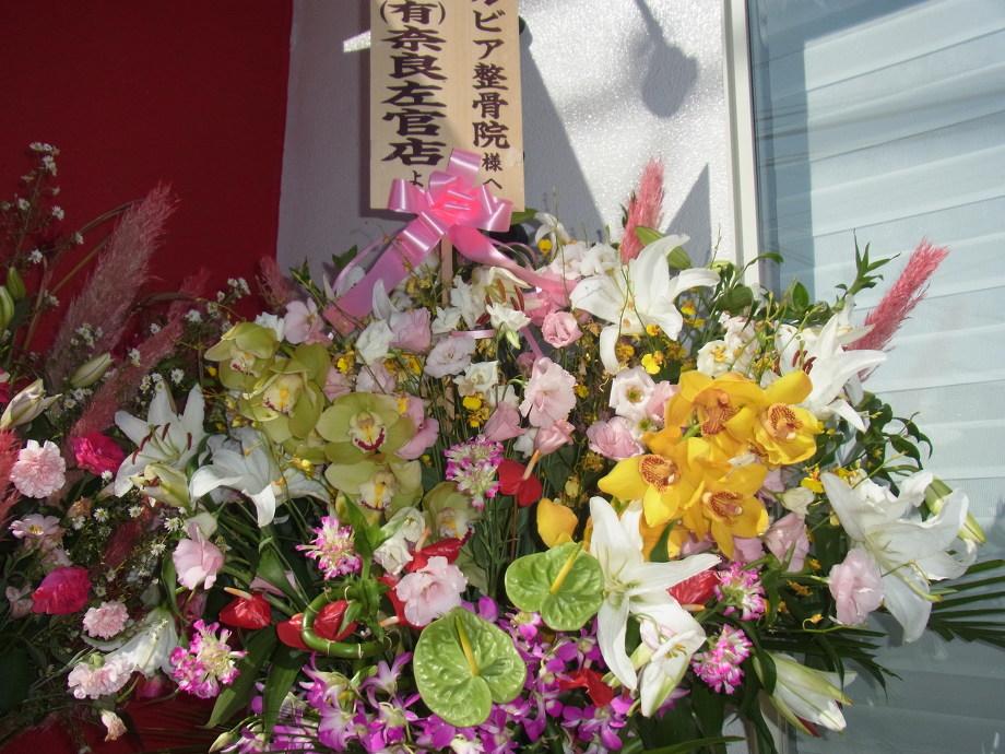 お花ありがとうございます★
