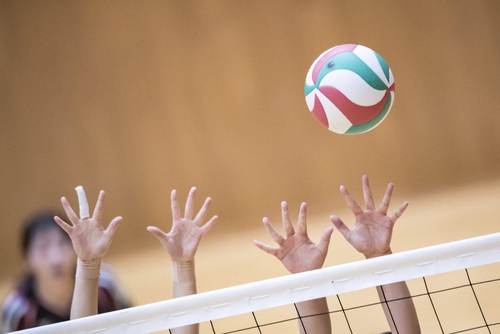 バレーボールの突き指